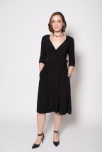 Packable Wrap Dress for Women On the Go