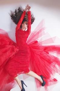 fan-red-dress