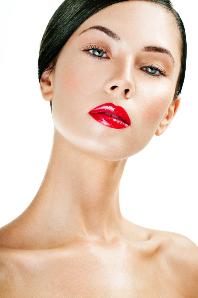 young beautiful woman. perfect skin