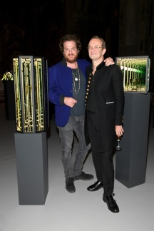 MILAN, ITALY - Massimiliano Locatelli (R) and Evan Yurman attend 'David Yurman - Where Design Meets Art' during Milan Men's Fashion Week Fall/Winter 2017/18 on January 14, 2017 in Milan, Italy. (Photo by Venturelli/Getty Images for David Yurman) *** Local Caption *** Massimiliano Locatelli; Evan Yurman