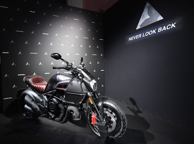 The New Ducati Diavel Diesel Global Premiere In Milan