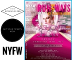 TODAY RUNWAYS ON FIRE – FASHION WEEK – 6PM