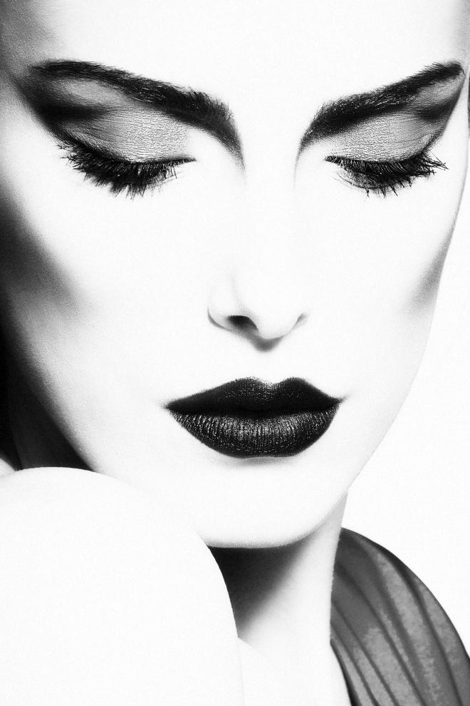 glamorous beauty portrait