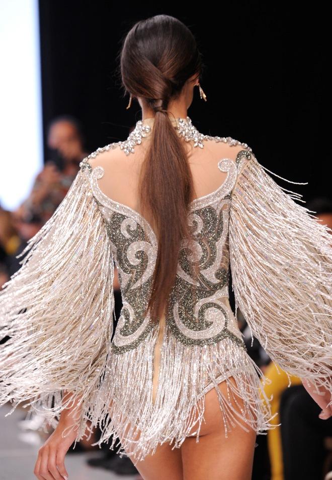 Elie Madi At Los Angeles Fashion Week SS18 Art Hearts Fashion LAFW