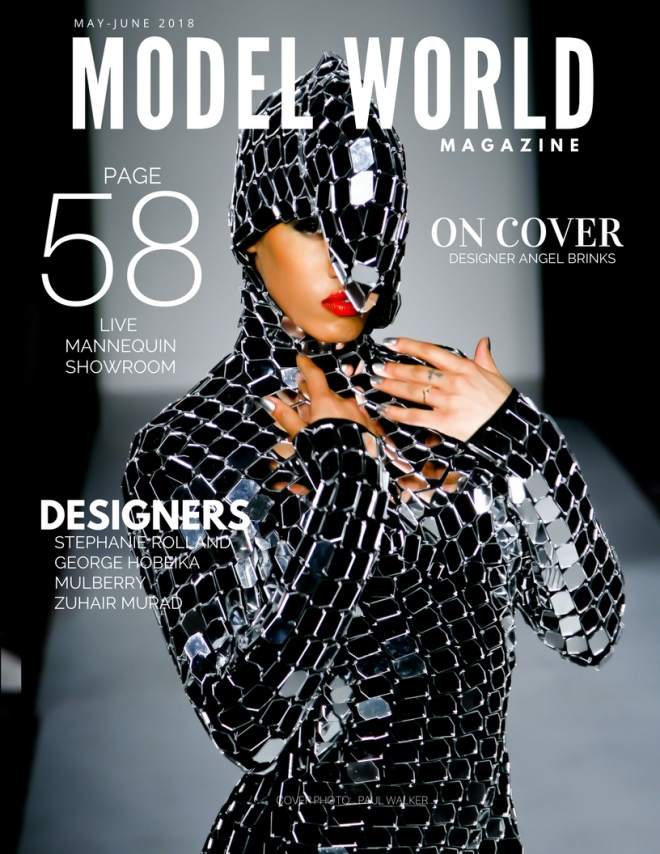 MODEL WORLD MAY JUNE COVER 2018