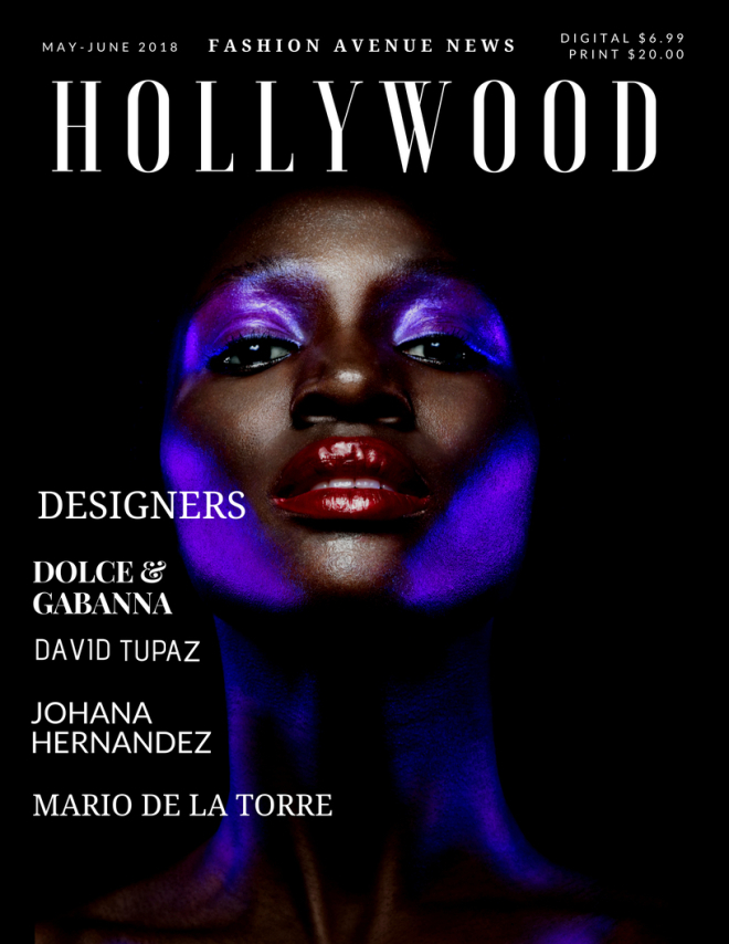 Hollywood FAN Mag Cover 2