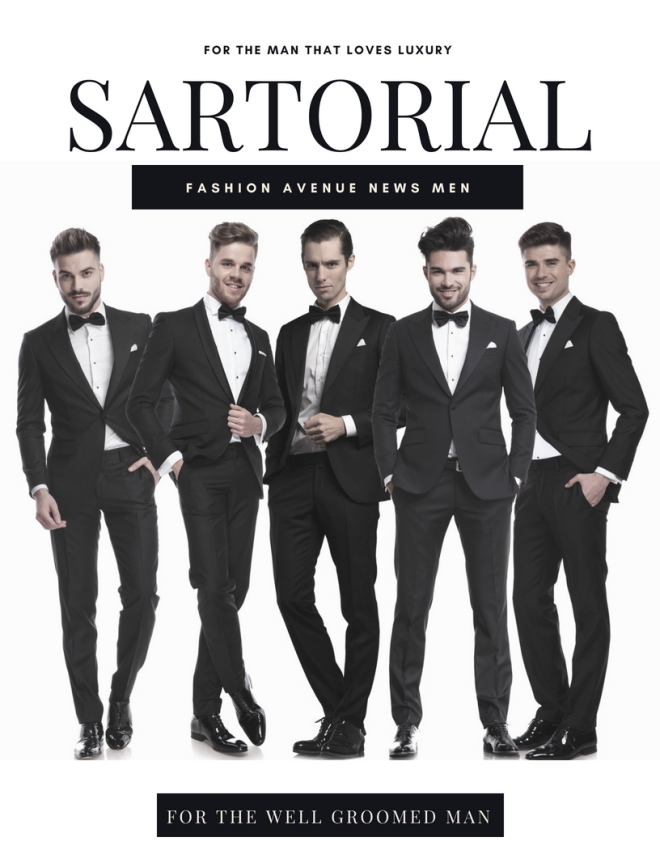 MEN COVER sartorial