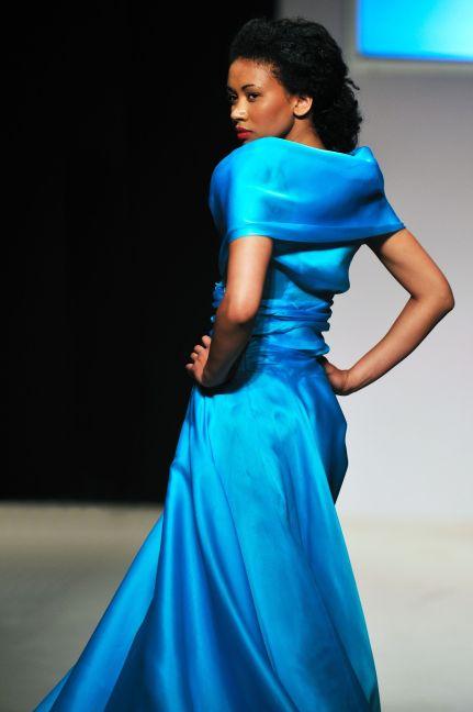 Blue Dress Runway