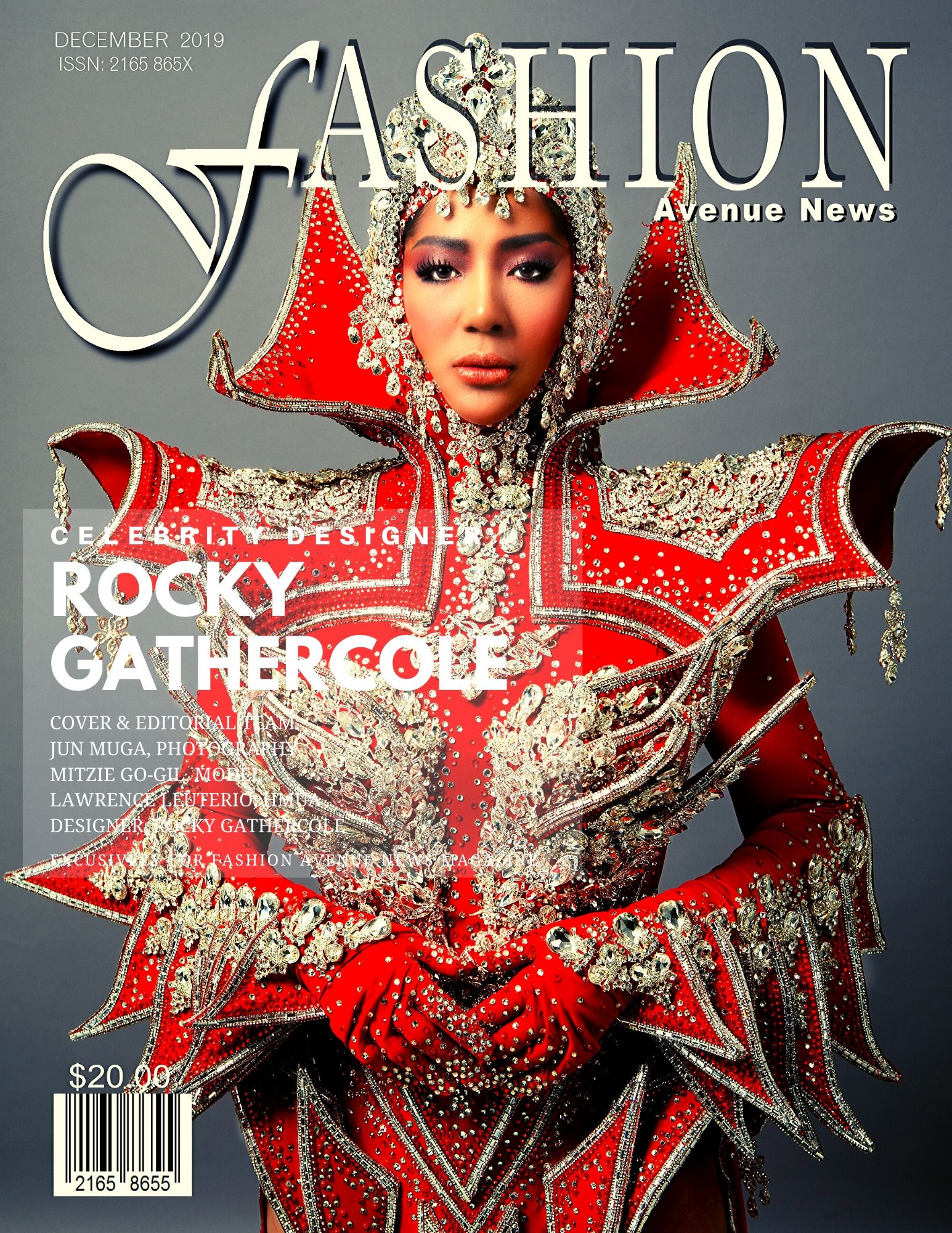 CELEBRITY DESIGNER ROCKY GATHERCOLE