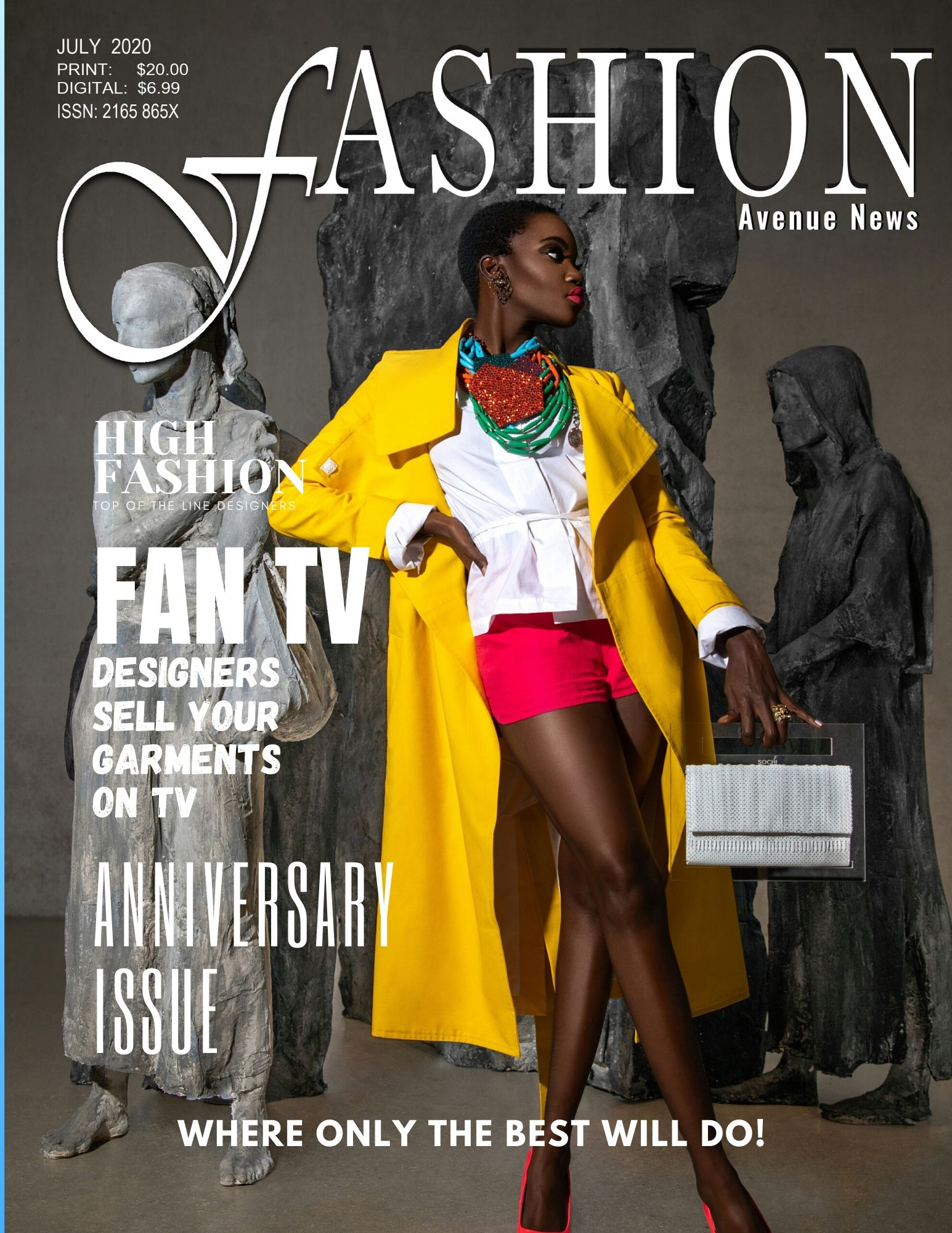 FASHION AVENUE NEWS JULY COVERS – #FABULOUS TAKE A LOOK